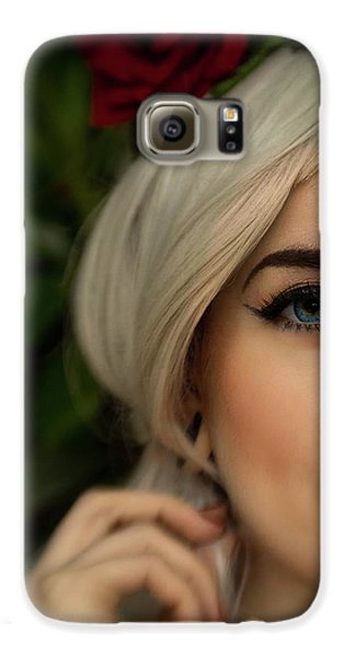 Jade Close Crop Galaxy S6 Case