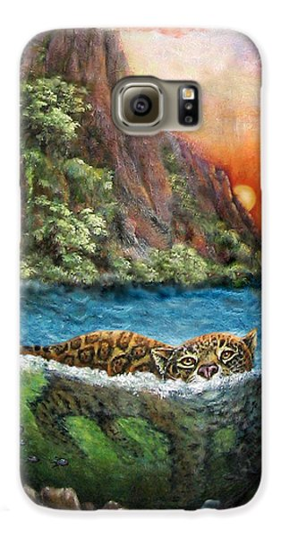 Jaguar Sunset  Galaxy S6 Case