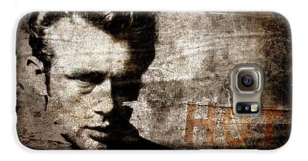 James Dean Hot Galaxy S6 Case by Carol Leigh