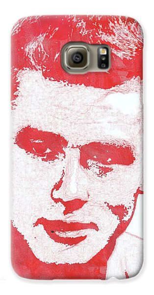 James Dean Pop Art Galaxy S6 Case by Mary Bassett