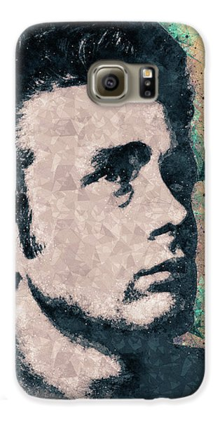 James Dean Portrait Galaxy S6 Case