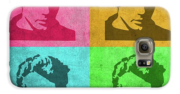 James Dean Galaxy S6 Case - James Dean Vintage Pop Art by Design Turnpike