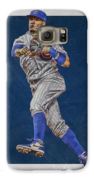 Javier Baez Chicago Cubs Art Galaxy S6 Case