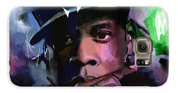 Jay Z Galaxy S6 Case by Richard Day
