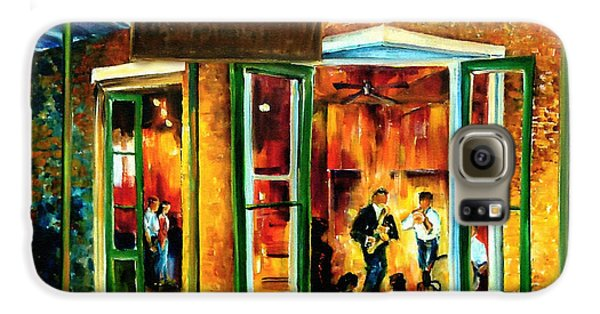 Jazz At The Maison Bourbon Galaxy S6 Case by Diane Millsap