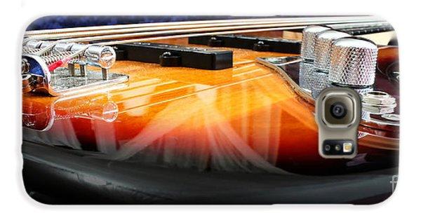 Guitar Galaxy S6 Case - Jazz Bass Beauty by Todd Blanchard