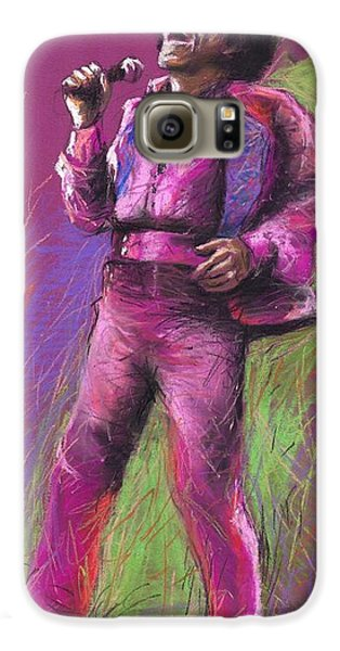 Jazz Galaxy S6 Case - Jazz James Brown by Yuriy Shevchuk
