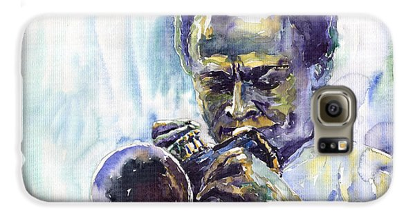 Jazz Galaxy S6 Case - Jazz Miles Davis 10 by Yuriy Shevchuk