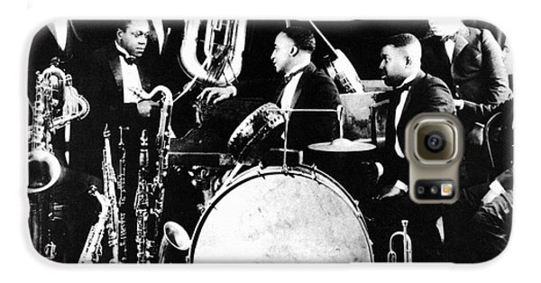 Harlem Galaxy S6 Case - Jazz Musicians, C1925 by Granger