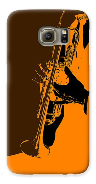 Saxophone Galaxy S6 Case - Jazz by Naxart Studio