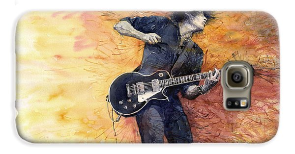 Jazz Rock Guitarist Stone Temple Pilots Galaxy S6 Case by Yuriy  Shevchuk