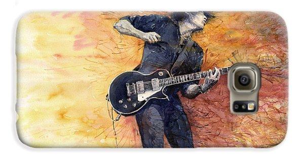 Galaxy S6 Case - Jazz Rock Guitarist Stone Temple Pilots by Yuriy Shevchuk