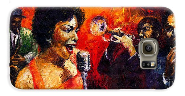 Jazz Galaxy S6 Case - Jazz Song by Yuriy Shevchuk