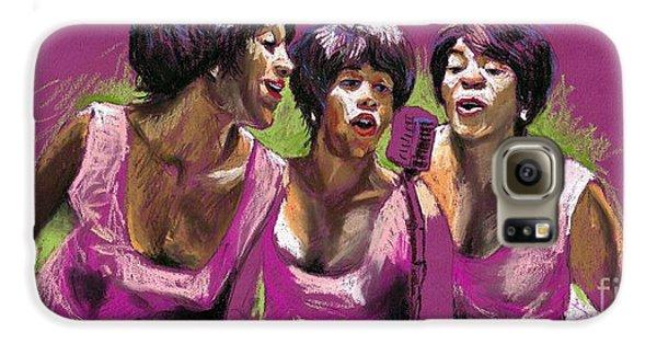 Musicians Galaxy S6 Case - Jazz Trio by Yuriy Shevchuk