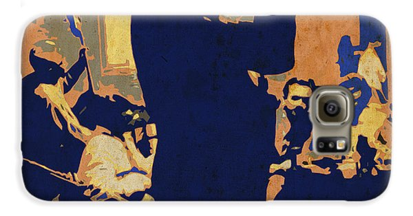Jazz Trumpet Player Galaxy S6 Case