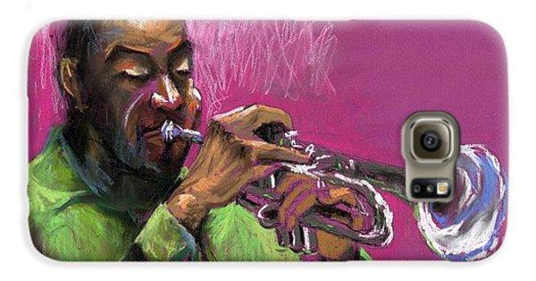 Jazz Trumpeter Galaxy S6 Case