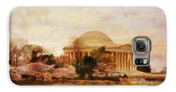 Jefferson Memorial Just Past Dawn Galaxy S6 Case