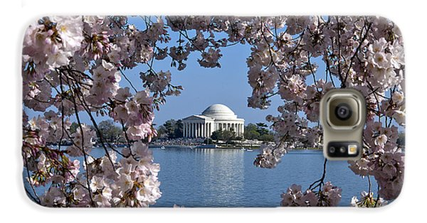 Jefferson Memorial On The Tidal Basin Ds051 Galaxy S6 Case by Gerry Gantt