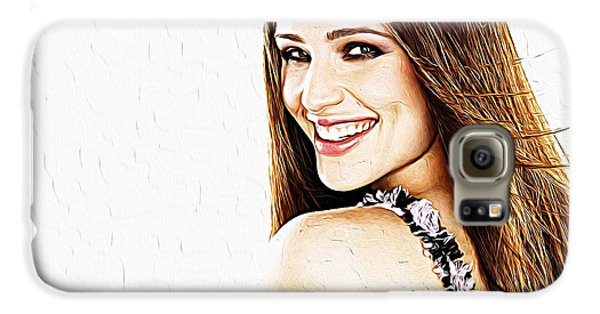 Jennifer Garner Galaxy S6 Case by Iguanna Espinosa