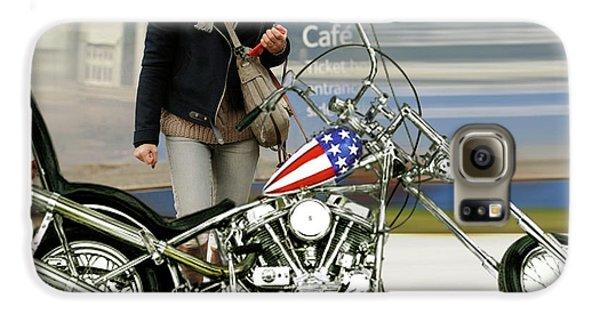 Jessica Alba Galaxy S6 Case - Jessica Alba, Captain America, Easy Rider by Thomas Pollart
