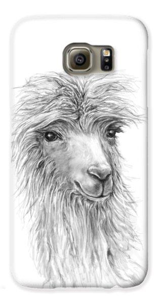 Llama Galaxy S6 Case - Jessica by K Llamas