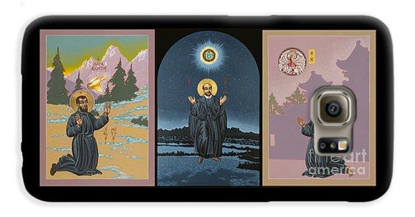 Jesuit Triptych-st Peter Faber-st Ignatius-st Francis Xavier Galaxy S6 Case
