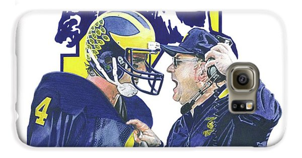 Jim Harbaugh And Bo Schembechler Galaxy S6 Case
