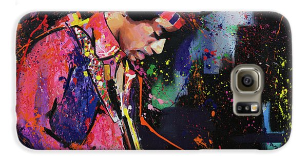 Jimi Hendrix II Galaxy S6 Case by Richard Day