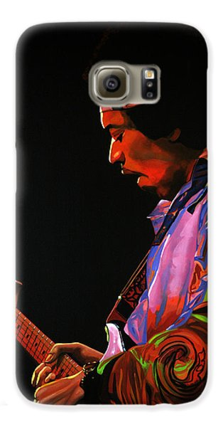 Knight Galaxy S6 Case - Jimi Hendrix 4 by Paul Meijering