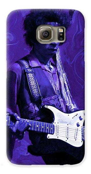 Guitar Galaxy S6 Case - Jimi Hendrix Purple Haze by David Dehner