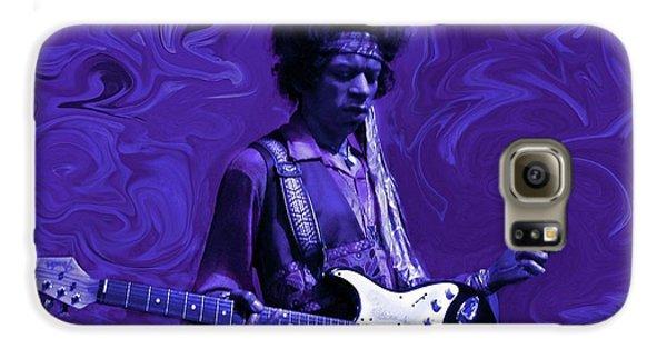 Jimi Hendrix Purple Haze Galaxy S6 Case
