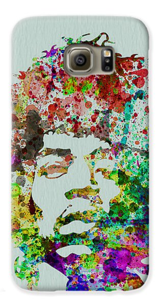 Jimmy Hendrix Watercolor Galaxy S6 Case by Naxart Studio