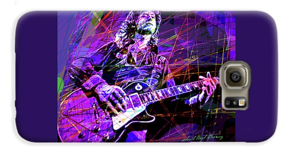 Jimmy Page Solos Galaxy S6 Case