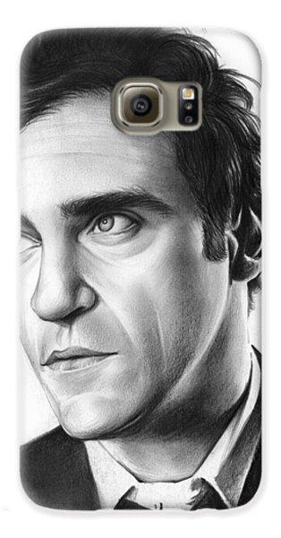 Joaquin Pheonix Galaxy S6 Case by Greg Joens