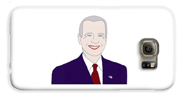 Joe Biden Galaxy S6 Case by Priscilla Wolfe