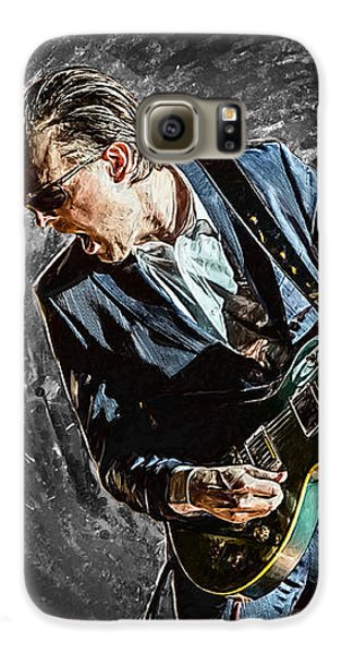Joe Bonamassa Galaxy S6 Case by Taylan Apukovska