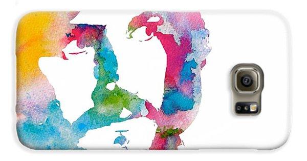 Robert Plant Galaxy S6 Case - John Bonham Watercolor by Dan Sproul