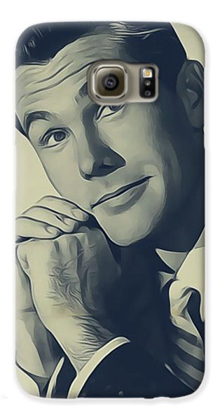 Johnny Carson, Vintage Entertainer Galaxy S6 Case