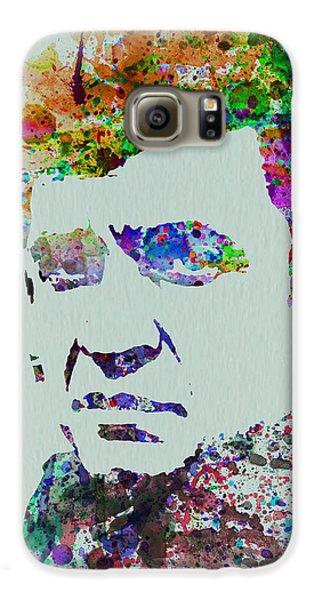 Johnny Cash Watercolor 2 Galaxy S6 Case