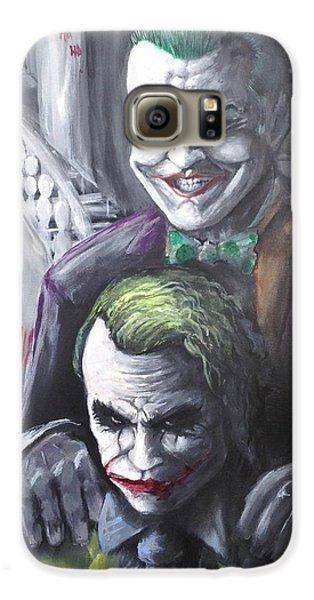 Jokery In Wayne Manor Galaxy S6 Case by Tyler Haddox