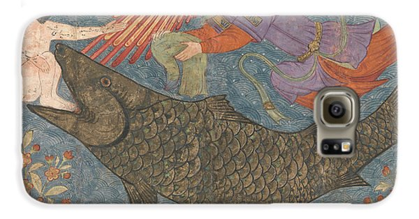 Jonah And The Whale Galaxy S6 Case by Iranian School