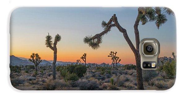 Desert Galaxy S6 Case - Joshua Sunset by Joseph Smith