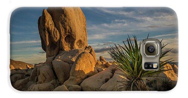 Joshua Tree Rock Formation Galaxy S6 Case