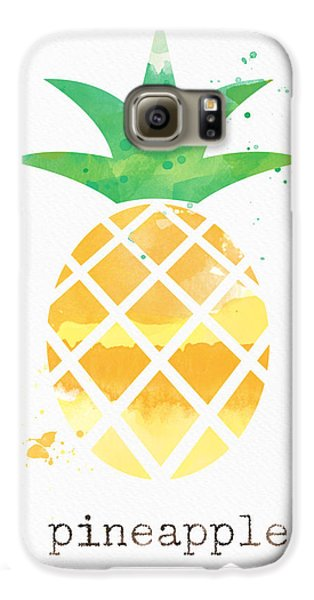Juicy Pineapple Galaxy S6 Case by Linda Woods