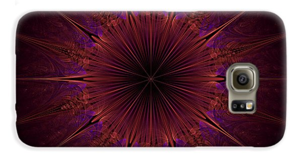 The Violet Blessings Of The Crown Chakra Galaxy S6 Case