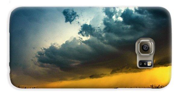 Nebraskasc Galaxy S6 Case - June Comes In With A Boom 012 by NebraskaSC