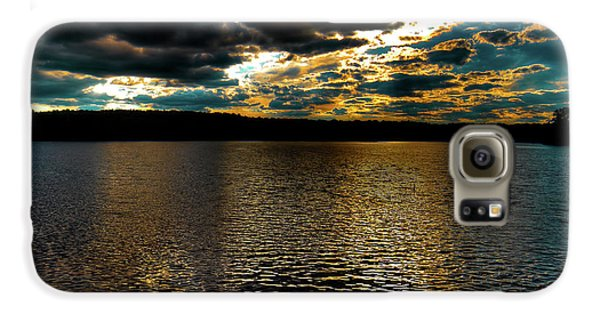 Galaxy S6 Case featuring the photograph June Sunset On Nicks Lake by David Patterson