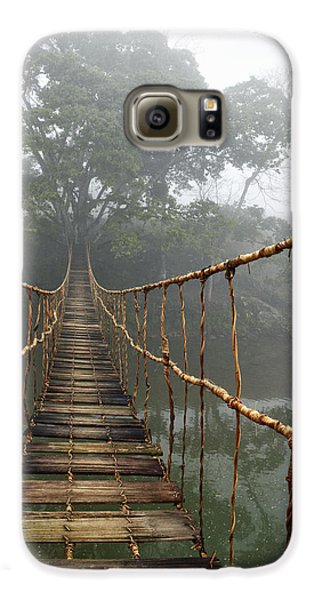 Jungle Journey 2 Galaxy S6 Case by Skip Nall
