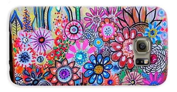 Galaxy S6 Case - Just Finished This Little 12 X12 by Robin Mead