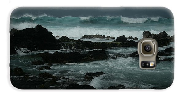 Ka Makani Kaiili Aloha Hookipa Maui Hawaii  Galaxy S6 Case